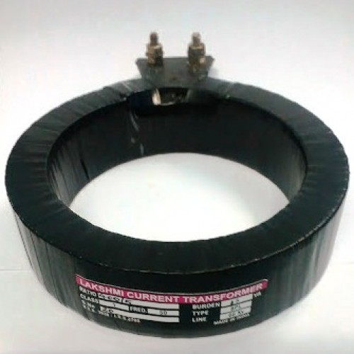 Lakshmi Current Transformer Tape Insulated Ring type 500/5 75mm