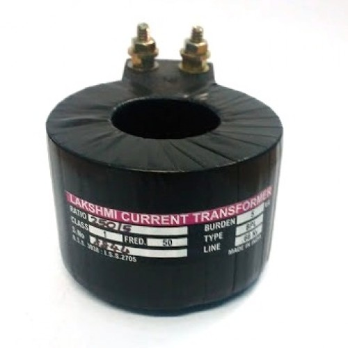 Lakshmi Current Transformer Tape Insulated Ring type 60/5 40mm