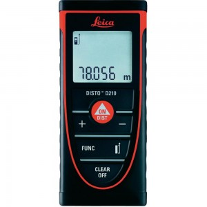 Leica DISTO D210 Laser Distance Measurer 80m