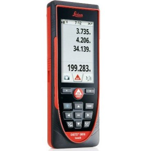 Leica DISTO D810 Laser Distance Measurer 200m with Touchscreen, LI-Ion battery