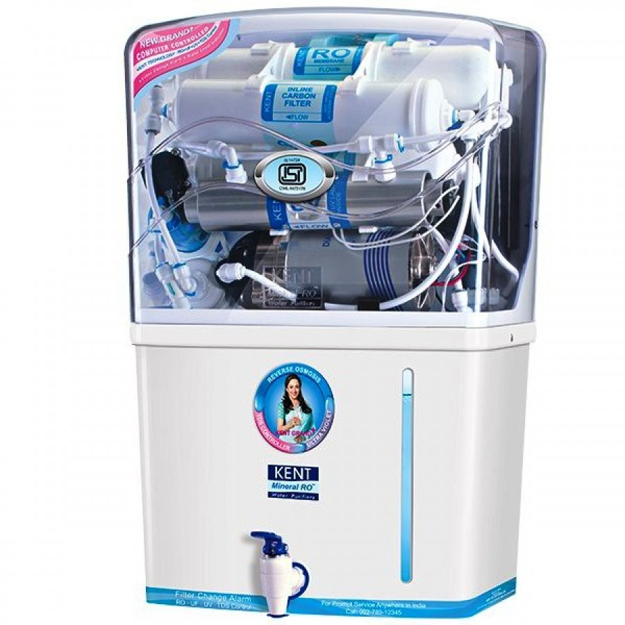 3f83330a433 Kent Grand+ RO Water Purifier RO UV UF TDS Best RO Water Purifier with UV  UF buy online at best price in Chennai India