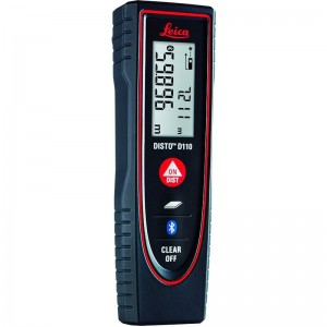 Leica DISTO D110 Laser Distance Measurer with Bluetooth 60m