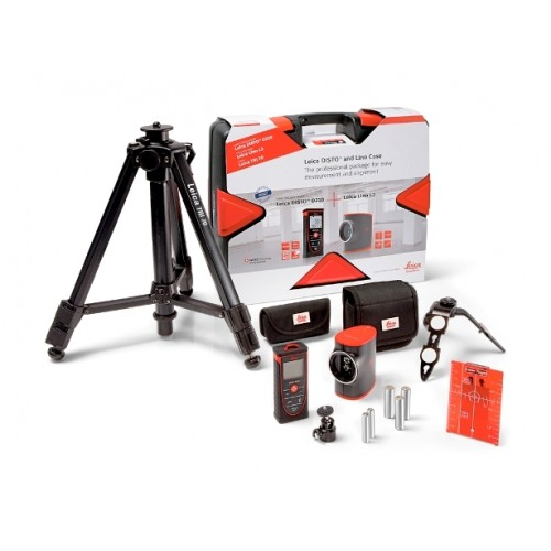 Leica Propack D210 Laser Distance Measurer and L2 Line Laser Kit