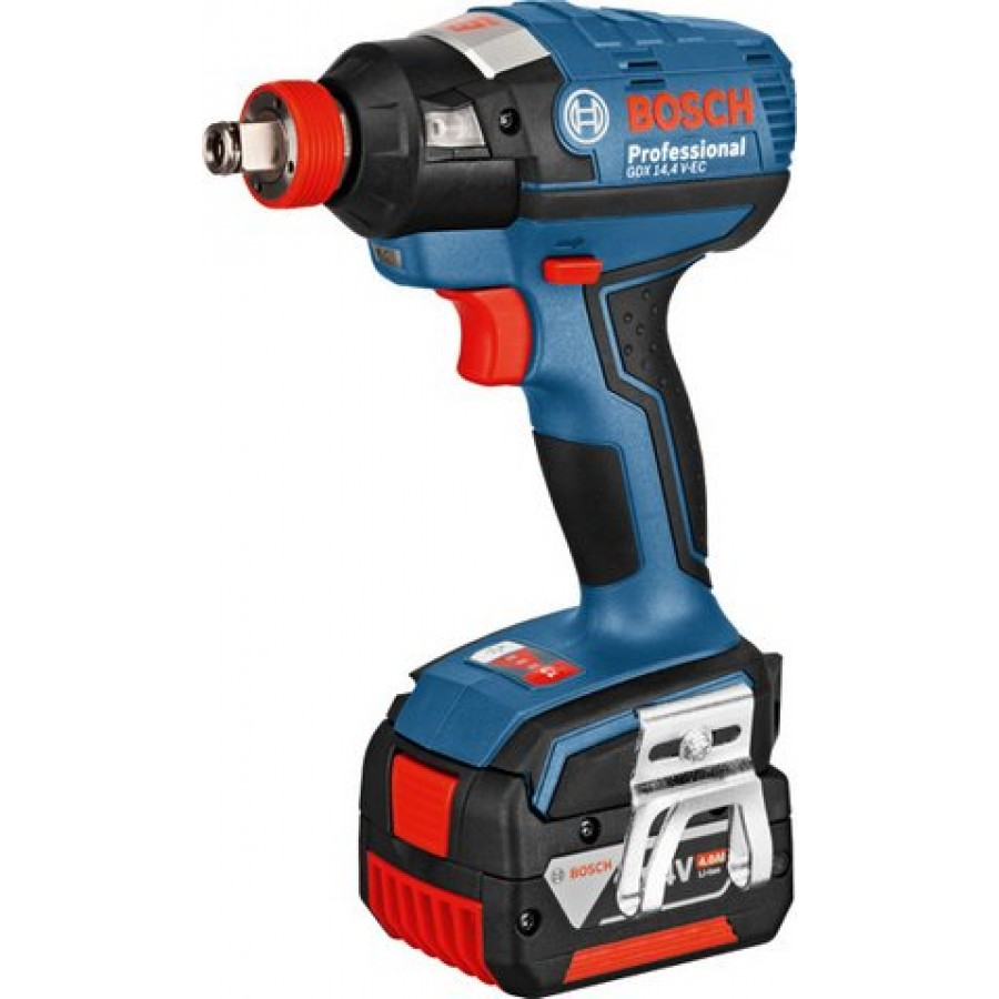 bosch gdx 14 4 v ec cordless impact wrench with dual socket and brushless motor. Black Bedroom Furniture Sets. Home Design Ideas