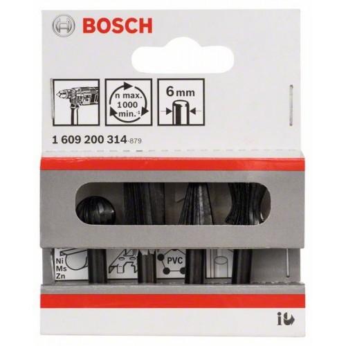 Bosch 4pcs Carving Deburring bit 6mmx30mm