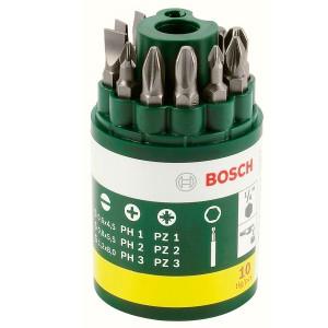 Bosch 10 Piece Screwdriver Set