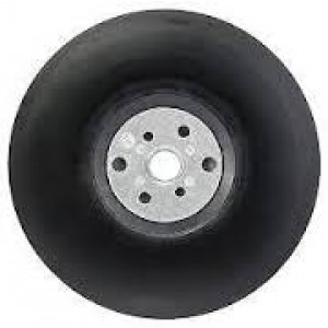 Bosch 100mm Rubber Backing Pad for 4inch angle grinders