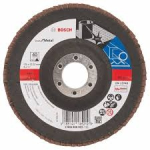 Bosch Zircon Flap Disc 125mm 40grit