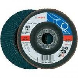 Bosch Zircon Flap Disc 125mm 60grit