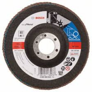Bosch Zircon Flap Disc 125mm 80grit