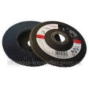 Bosch Zircon Flap Disc 125mm 120grit