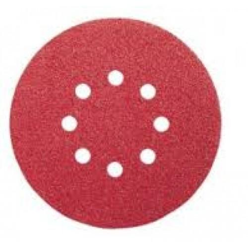 Bosch Velcro Sanding sheets 120grit 125mm