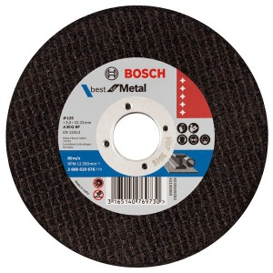 Bosch 5inch Metal Cut-off Disc 125mm x 2mm *25pcs