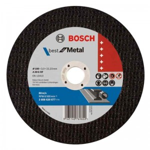 Bosch 7inch Metal Cut-off Disc 180mm x 2mm *25pcs