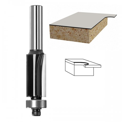 Bosch Edge Trimming Router Bit with bearing 8mmx25mmx12.7