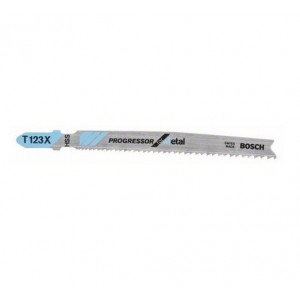 Bosch T123x Jigsaw Blades for metal cutting