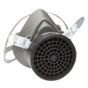 3M 1200 Half Face Respirator With Catridge