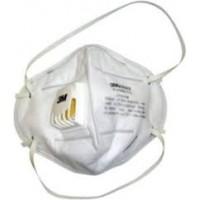 3M 9004V White Mask With Valve*5pcs pack