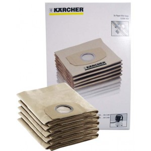 Karcher Paper filter bags 5pcs. pack for WD4 MV4