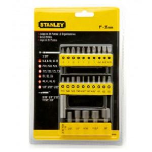 Stanley screwdriver insert bit 29pcs set