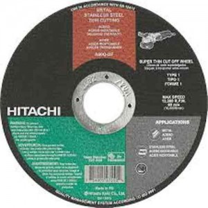 Hitachi 4inch cut-off wheels 100mmx2.5mm *25pcs