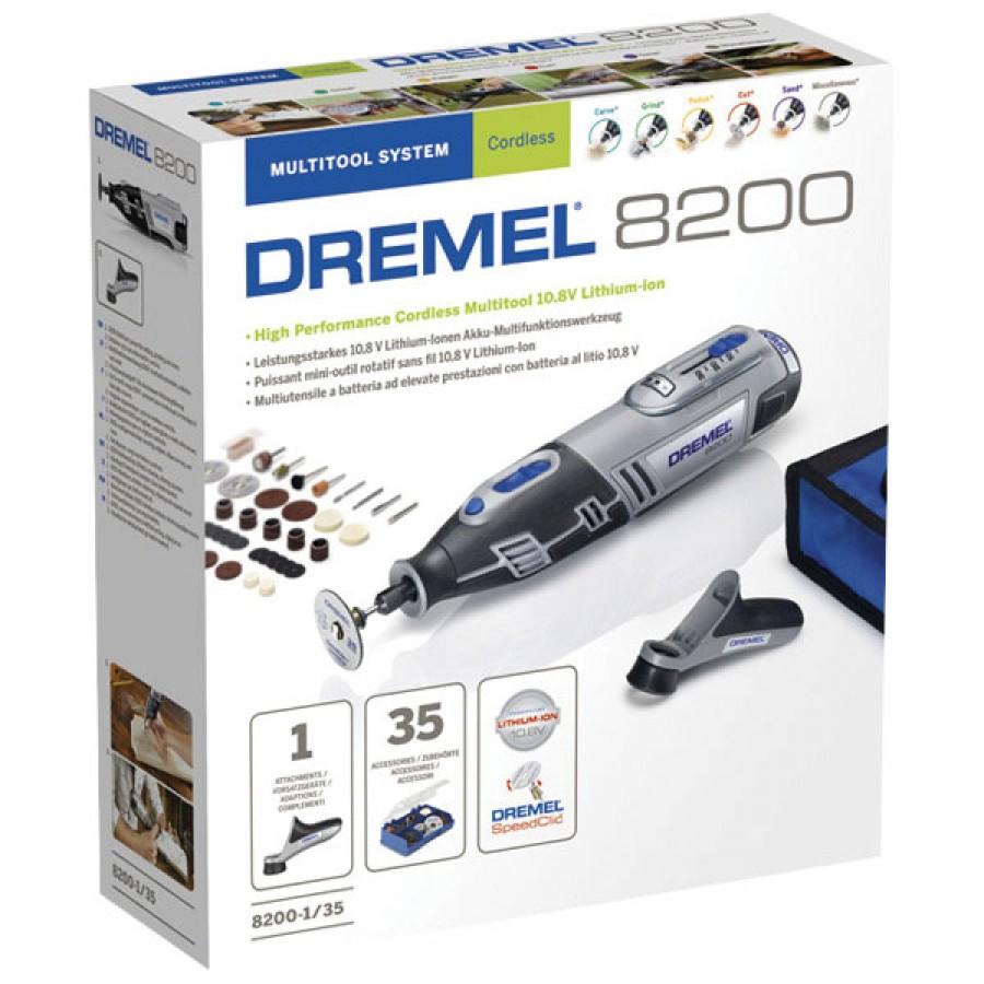 dremel 8200-1/35 cordless rotary multitool