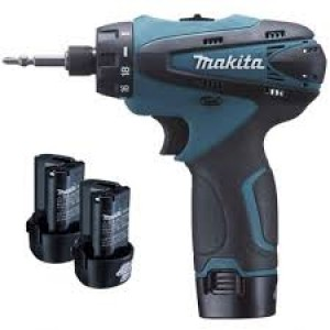 Makita DF030DWE Cordless Screwdriver 10.8v Li-on