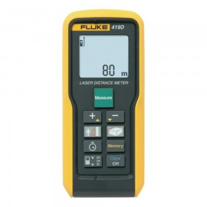 Fluke 419D Laser Distance Meter 80mtr