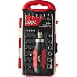 Skil 28Pcs T-Handle Screwdriver Set