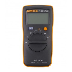 Fluke 101+ Digital Multimeter with back strap
