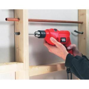 Black Decker KR504RE-K12 Impact drill 10mm 500w with tool kit