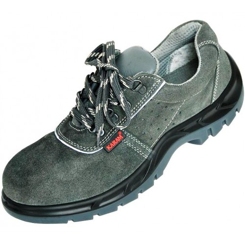 Karam FS 64 Safety Shoe Leather, PU sole with steel toe