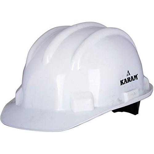 Karam HS06 Adjustable Unisex Helmet Ratchet, White, HDPE