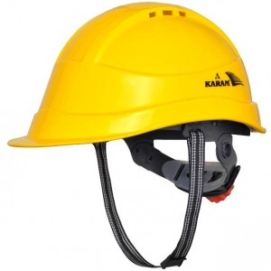 Karam PN542 Safety Helmet HDPE with Protective Peak