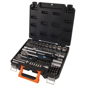 Ferm TBM1034 83pcs Socket wrench and screwdriver set