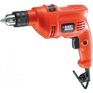 Black Decker KR504RE Impact drill 10mm 500w with 4bits