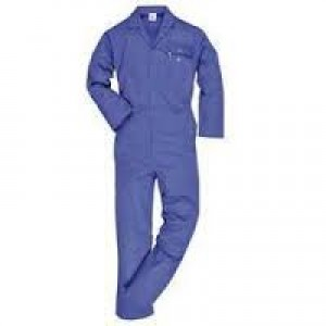 Boiler Suit - Cover All Work Wear - Cotton - Blue