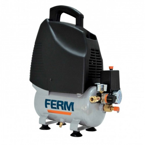 Ferm CRM1041 Oil-Free Air Compressor 1.5HP 6Ltr