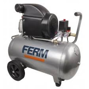 Ferm CRM1046 Air Compressor 2HP 1500W 50L