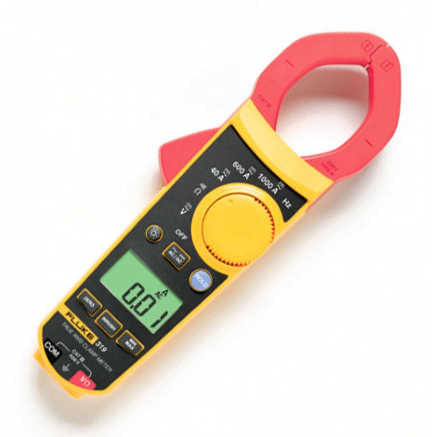 Fluke Amp Clamp : Fluke amp true rms ac dc digital clamp meter with