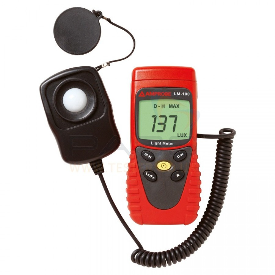 Light Measuring Instruments : Fluke lm light meter manual ranging
