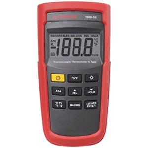 Fluke TMD-50 THERMOCOUPLE THERMOMETER K TYPE