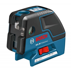 Bosch GCL 25 Professional 5-Point Laser with Cross-Line