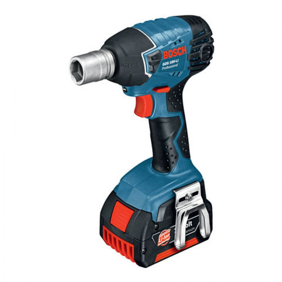 bosch gds 18 v li professional cordless impact wrench. Black Bedroom Furniture Sets. Home Design Ideas