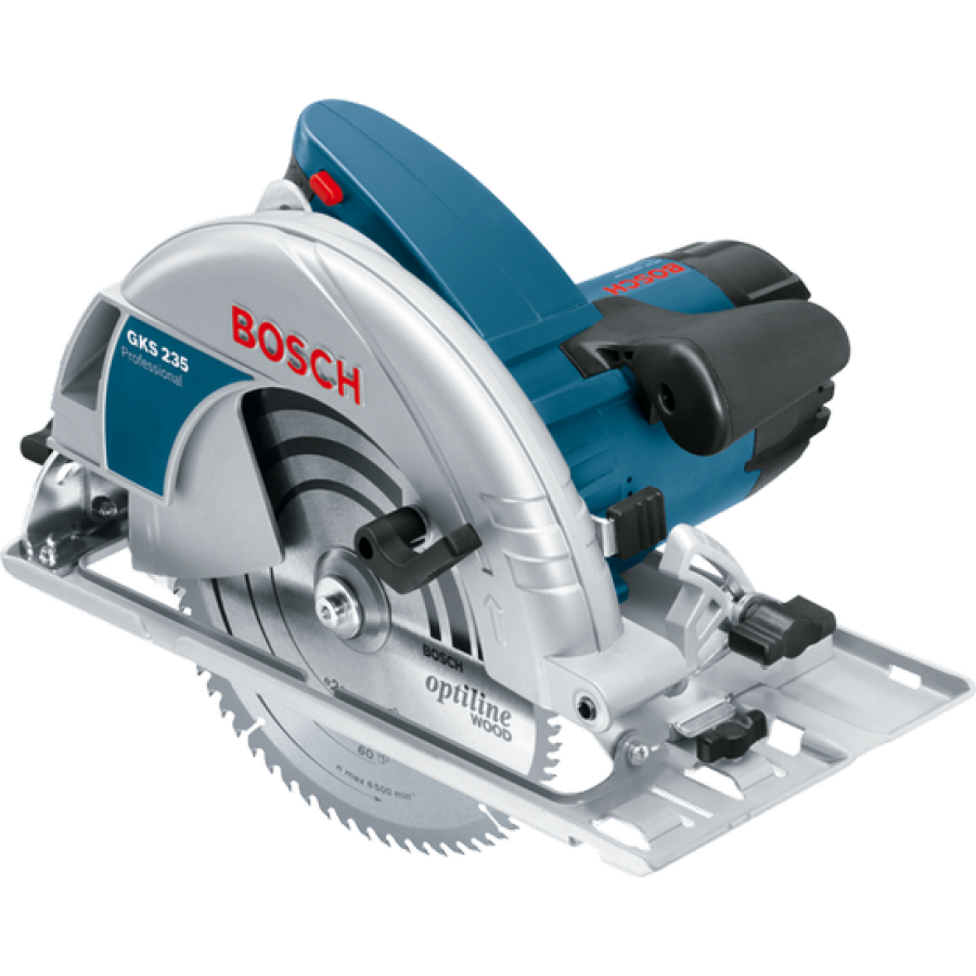 bosch gks 235 circular saw 9inch 1100w. Black Bedroom Furniture Sets. Home Design Ideas