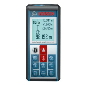 Bosch GLM 100 C Professional Laser Distance Meter with Bluetooth 100mtr