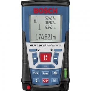 Bosch GLM 250 VF Professional Laser Range Finder 250mtr