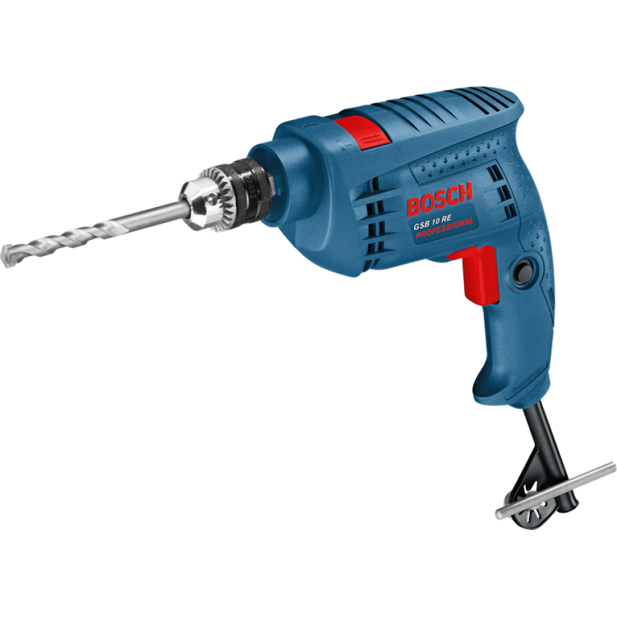 Bosch Gsb 10 Re Kit 10mm Impact Drill With 100pcs Tool Kit