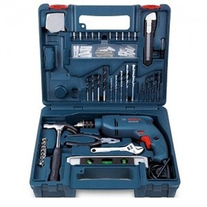 Bosch GSB 10 RE Kit Professional Impact Drill with 100pcs tool kit