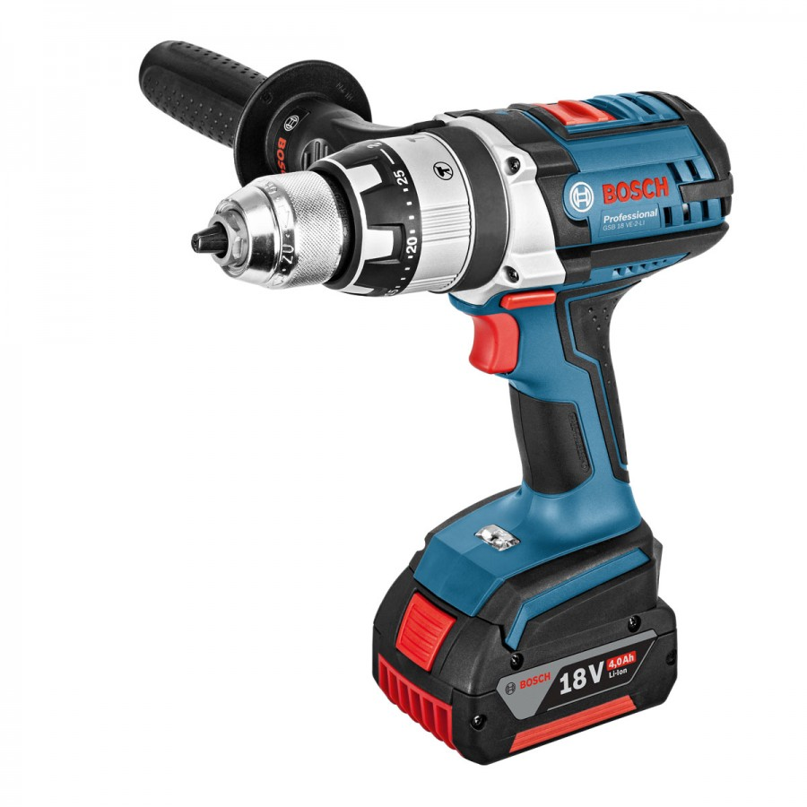 bosch gsb 18 ve li cordless impact drill 13mm. Black Bedroom Furniture Sets. Home Design Ideas